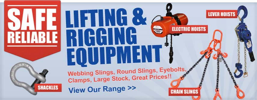 Lifting & rigging equipment