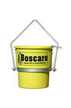 Plastic Circular Muck Tipping Skip 70ltr, Boscaro