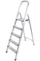 Aluminium Foldable Step Ladder 5 tread