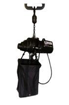 Inverted chainhoist 500kg 240 volt c/w bag