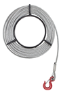 1600 Kg Winch Rope, Length options 10m to 50m.