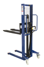 500kg Manual Stacker Truck 1600mm lift height