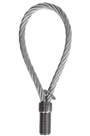 M16 Steel Lifting Loop, 8mm Thread Size, 155mm Length, SWL 1200kg