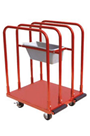 4wheel Panel/Plaster Board Trolley c/w Tray