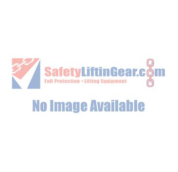 2mtr Adjustable Webbing Restraint Lanyard c/w Scaffold Hook