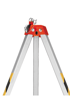 Aluminum Rescue Tripod Adjustable for confined space entry and rescue