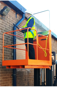 IAP-7 Forklift Access Platform (Side Gate access)