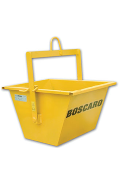 Hoist Tipping Bucket 150 Litre, Boscaro