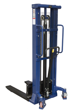 1000kg Manual Stacker Truck 3000mm lift height