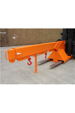 3tonne Fork Mounted Adjustable Height Extending Jib