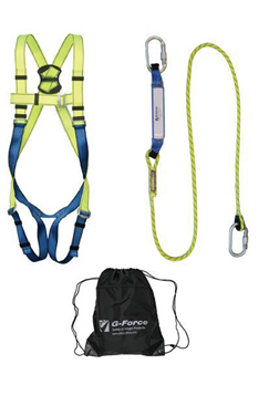 Harness & Shock Absorber Lanyard Kit