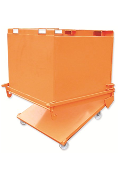 550kg Automatic Bottom Empty Skip