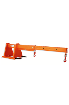 4tonne Fork Mounted Extending Jib