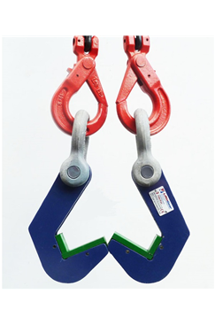 Pipe Hooks,  Capacity per pair 6 tonne with surface protection