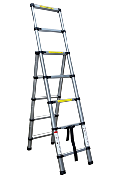 2.6mtr Aluminium 3-way Combination Ladder