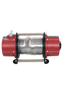 Battery Powered Portable Winch, Pulling force 750kg.