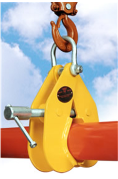 SUPERCLAMP 1016kg Pipe Lifting Clamp 63-115mm