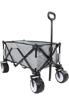 Folding Festival/Camping Trolley Cart c/w BIG BOY WHEELS