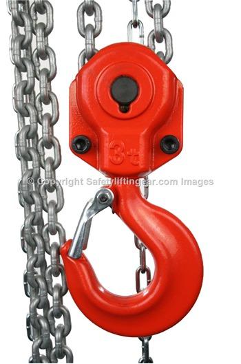 Elephant Chain Block Hoist 3 tonne, 3mtr to 30mtrs