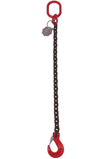 1.5 tonne Chainsling 1 Leg, Latch Hook