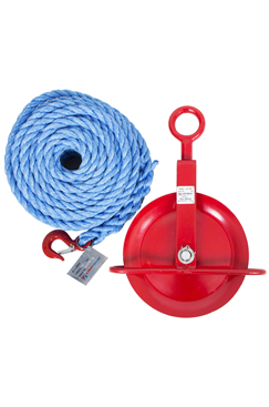 Liftingear Gin Wheel and Ropes