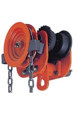 ELEPHANT 1000kg Adjustable Geared Beam Trolley 60-130mm