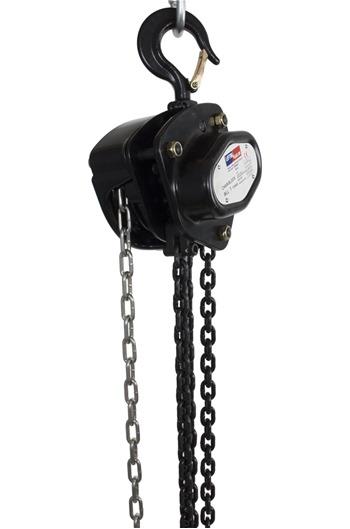 Chain Block Hoist 1 tonne 3m - 30m,