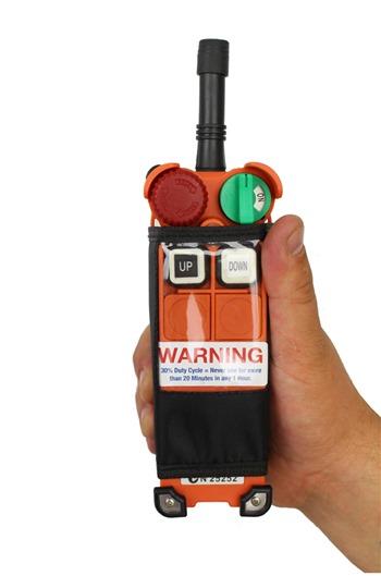 Radio Controlled Electric hoist 1000kg, 240 volt c/w bag