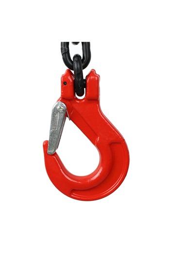 4.25 tonne 2 Leg Chainsling, Adjustable & c/w Latch Hooks