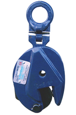 LiftinGear Vertical Plate Clamp Sizes from 0.5t to 5t Available