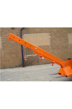 5tonne Fork Mounted Adjustable Height Extending Jib