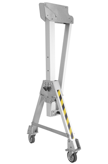 3000kg Aluminium Gantry, 3mtr beam, 1600-2200mm