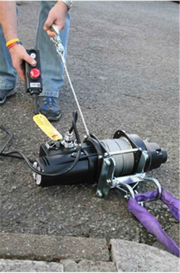Electric Winch 110 Volt Lifting Capacity 500kg C W