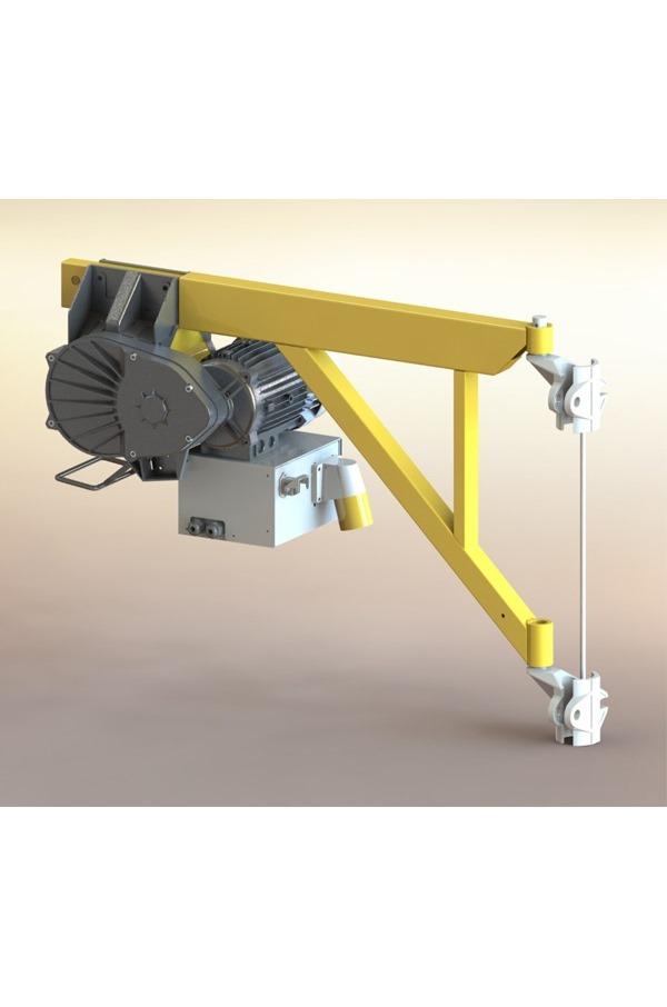 Electric Scaffold Hoist Lift : Scaffold hoist kg v mtrs lift lg kt tm