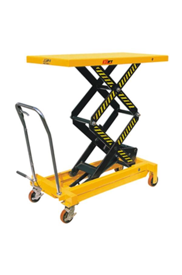 Double Vertical Scissor Lift Hydraulic Platform Table 700kg Pt Tfd70 Safetyliftingear