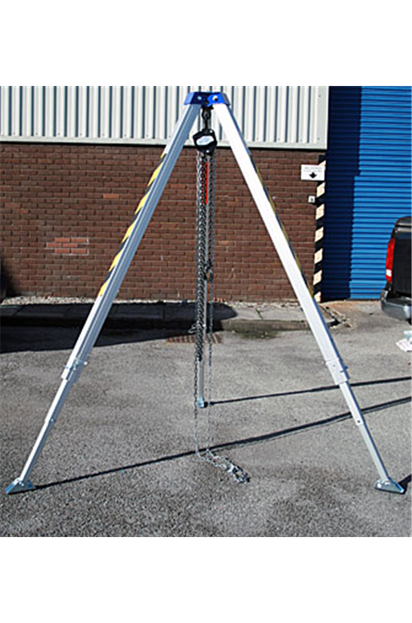 Lifting Tripod Shear Legs Wll 1 Tonne Adjustable Tm11
