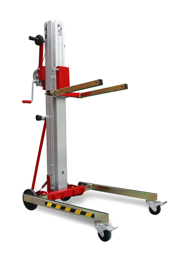 Material Lift Safety : Compact folding material lift kg toro a