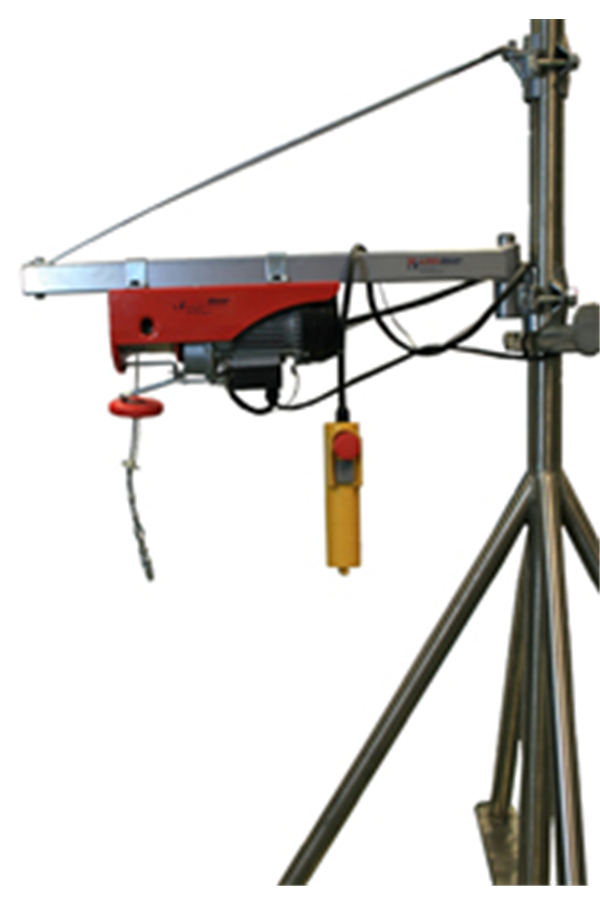Electric Wire Rope Hoist 125kg 240volt X 18mtr Hol Wrh