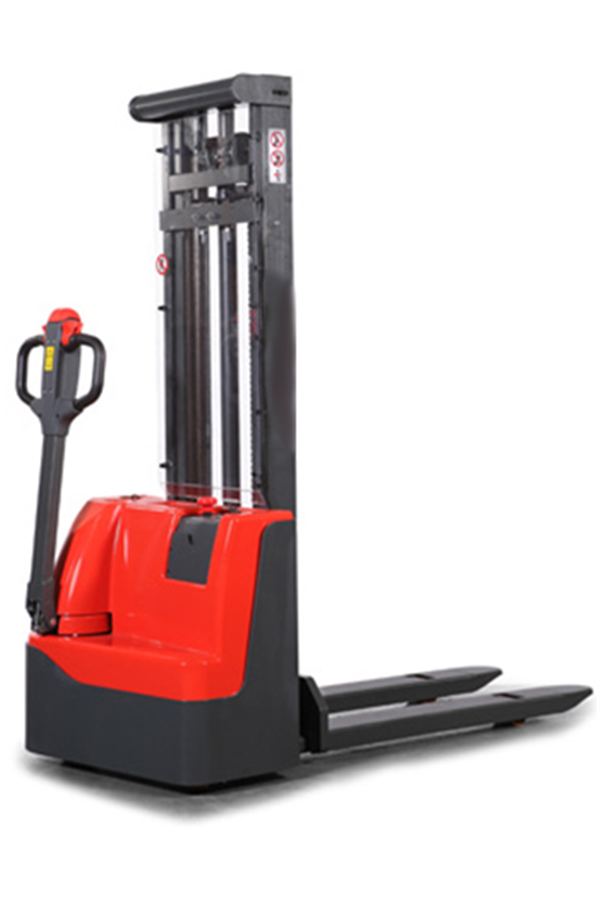 1000kg Powered Electric Stacker Full Electric Lift And