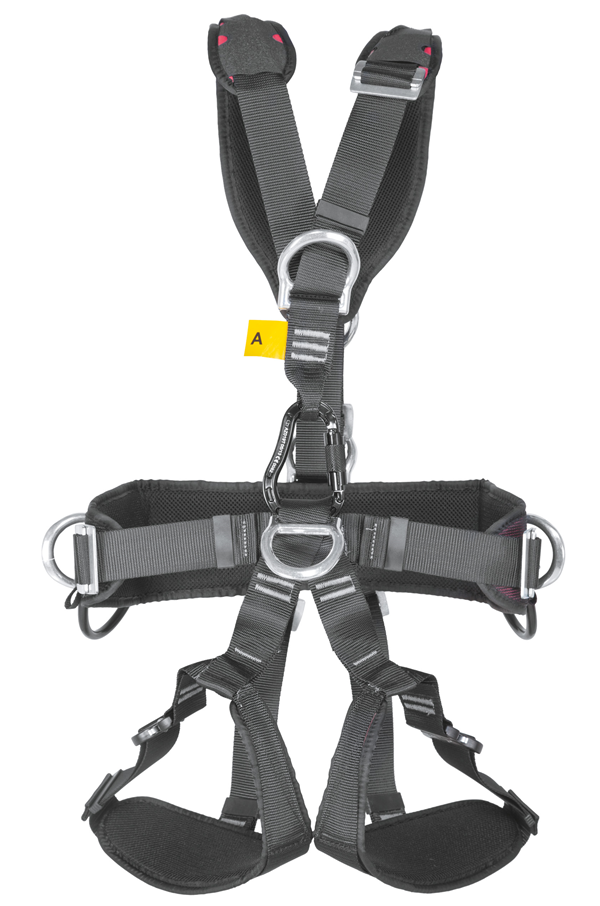 G force p qr rope access harness with quick release