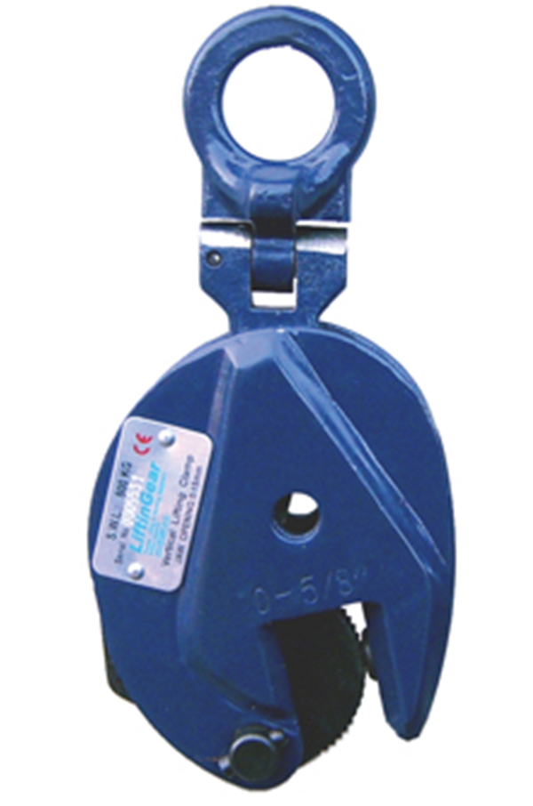 Liftingear Vertical Plate Clamp Sizes From 0 5t To 5t
