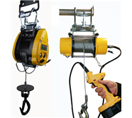 Wire Rope Hoists (Electric & Battery)