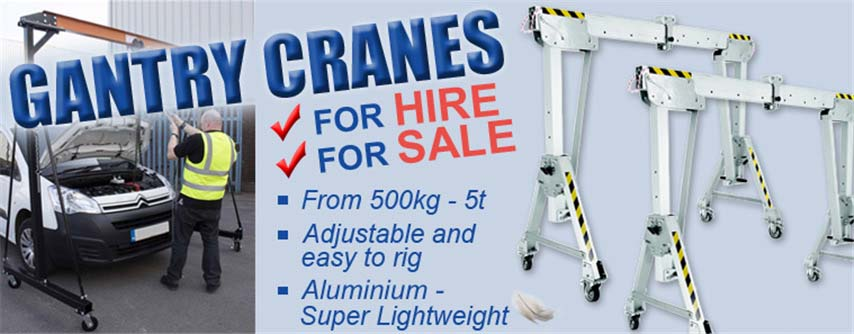 Lifting Gear, Rigging Equipment & Safety Gear