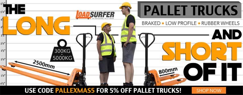 pallet truck discount