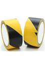 Yellow & Black Hazard Warning self adhesive Floor Tape