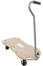 300kg Plywood Wooden Dolly Trolley c/w Handle