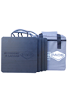 Pack of 4x 220x220x18mm Flat Caravan Pads