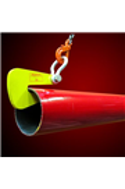 SUPERCLAMP 4064kg per pair Pipe Hooks