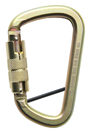 AZ017T Twist Lock Karabiner c/w Locking Pin