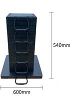 Eco-Stak Plus 100 Kit 5 Stackable Jacking Blocks